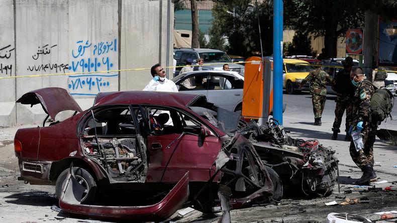 Afghanistan: Sprengsatz in Nähe der US-Botschaft im Diplomatenviertel von Kabul detoniert