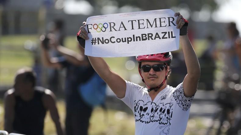 Hinter den Kulissen der Olympiade: Die Machenschaften der Putsch-Regierung unter Temer
