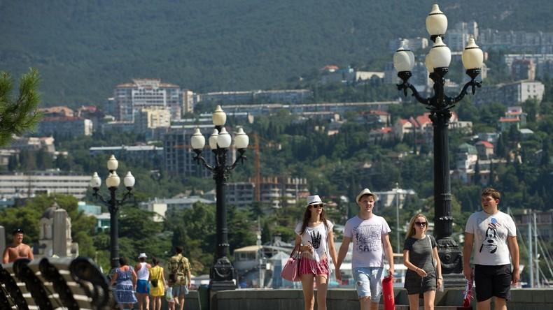 """Europäer auf der Krim: """"Westliche Medien haben keine Ahnung vom Leben hier"""""""