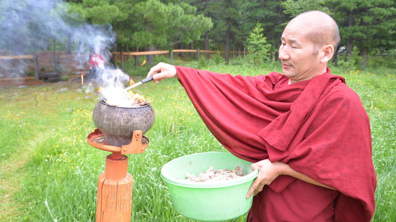 Buddhismus in Russland: Der Lama, der in Meditation versunken starb