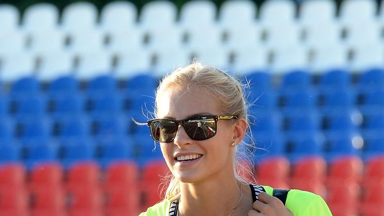 Klischina auf dem Sprung: Internationales Sportgericht lässt russische Weitspringerin für Rio zu