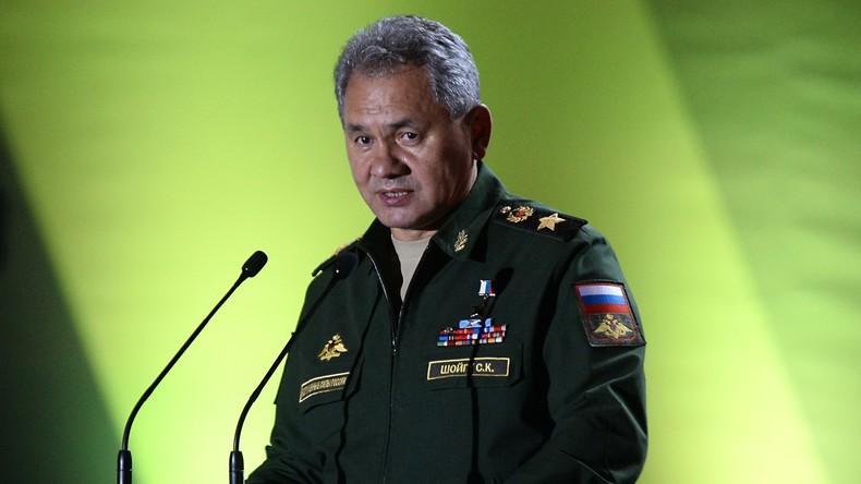 Schoigu: Russland und der Westen haben sehr unterschiedliches Verständnis von gemäßigter Opposition