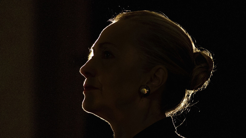 Hillary im Dämmerlicht...
