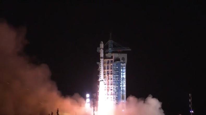 """Auf dem Weg zur Quantenkryptografie: China schickt neuen """"abhörsicheren"""" Satelliten ins All"""