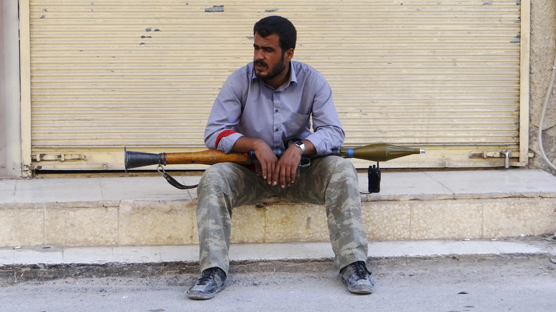Europäische Waffenlieferungen an Terroristen in Syrien: Nach EU-Recht illegal