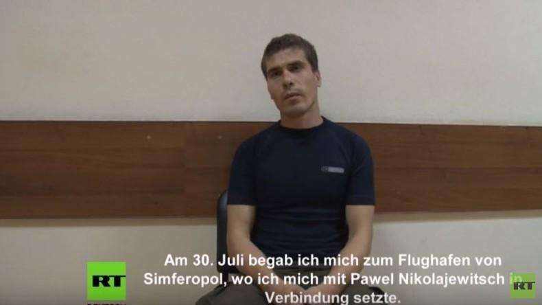 Geplante Anschläge auf der Krim: FSB-Video mit neuen Aussagen von Zeugen und Saboteuren