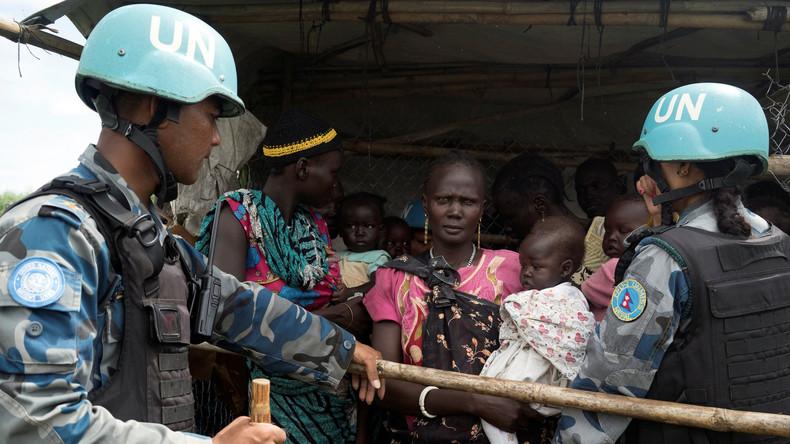 Süd-sudanesische Regierungstruppen vergewaltigen Zivilisten - Blauhelme bleiben untätig