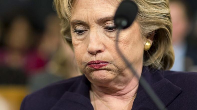 Hillary Clinton bei einer Anhörung im Kongress am 22. Oktober 2015.