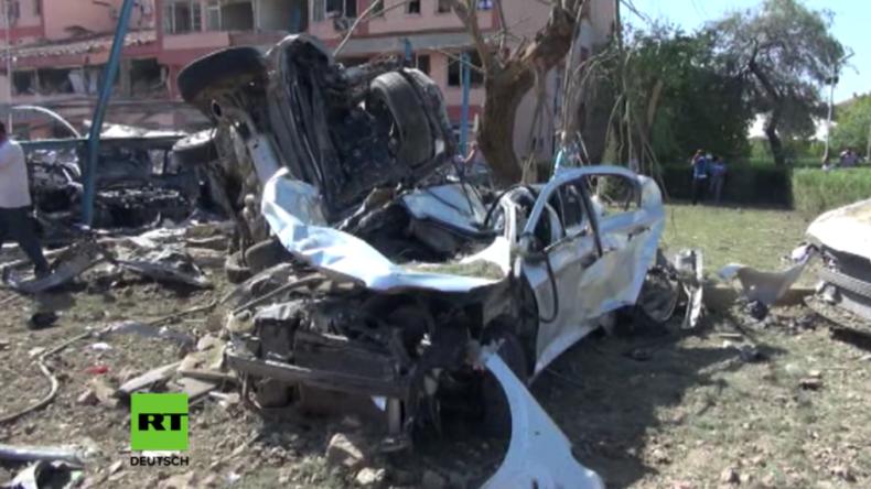 Türkei: Mindestens 6 Tote und über 200 Verletzte nach Bombenanschlag vor Polizei-Station in Elazig