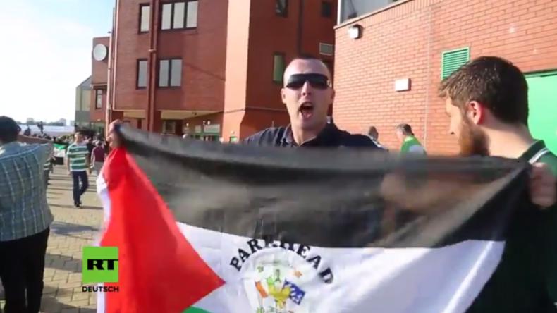 Schottland: Celtic-Fans schwingen palästinensische Fahnen bei Spiel gegen israelisches Team