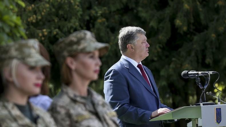 Poroschenko spekuliert über russischen Einmarsch in die Ukraine