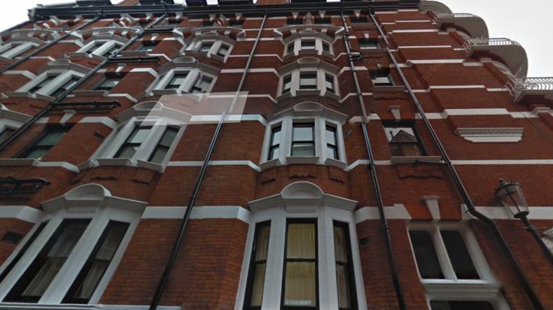 Mordversuch auf Assange? Unbekannter erklettert ecuadorianische Botschaft in London