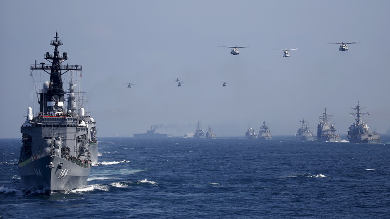 """""""Rote Linie"""": China warnt Japan vor Teilnahme an """"Freiheit der Schifffahrt""""-Kriegsmanöver der USA"""