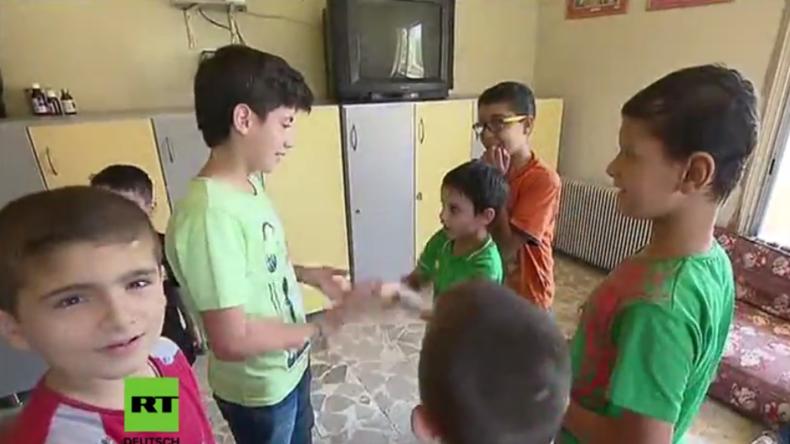 Syrien: Russische Armee beliefert Waisenhaus in Aleppo mit humanitärer Hilfe