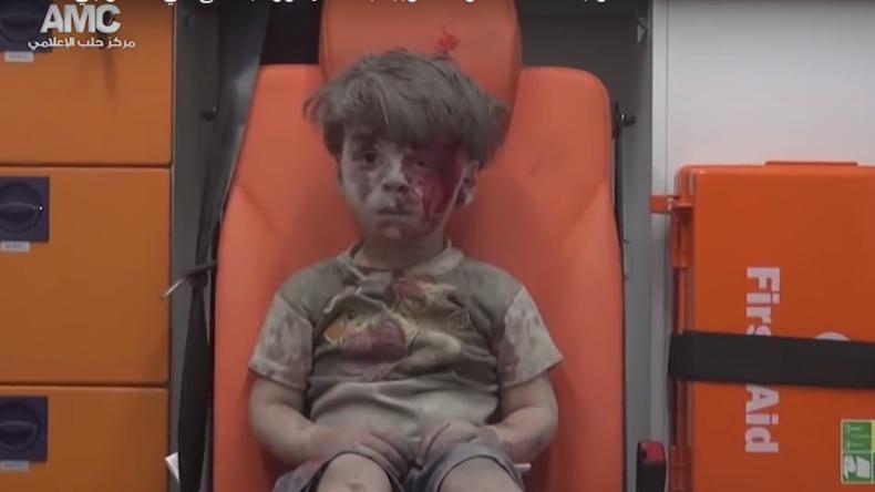 Kontakte zu Extremisten: Wer ist der Fotograf von syrischem Jungen Omran?