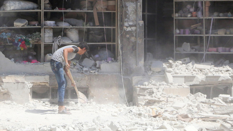 Aleppos Bürger halten Terror-Angriffen stand