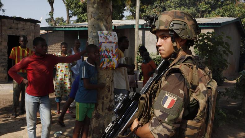 Zentralafrika: Französische Friedenstruppen begingen massenhaft Sexualverbrechen