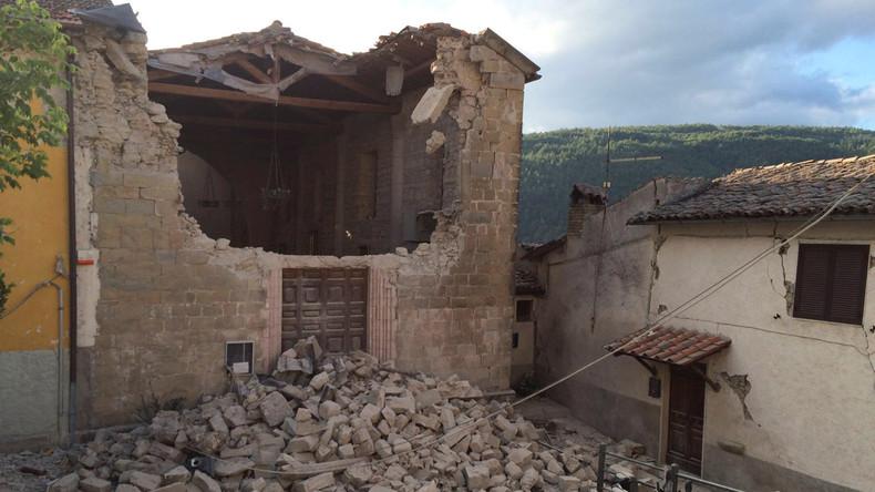 Schweres Erdbeben in Italien: Halb Amatrice existiert nicht mehr