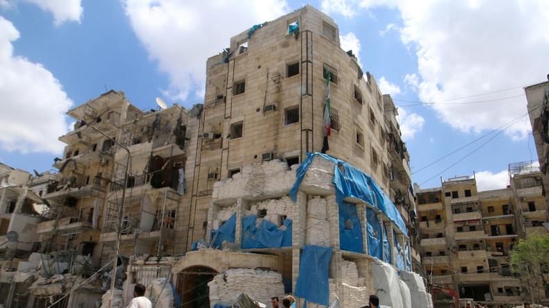 Vom Krieg gezeichnet: Die syrische Stadt Alappo