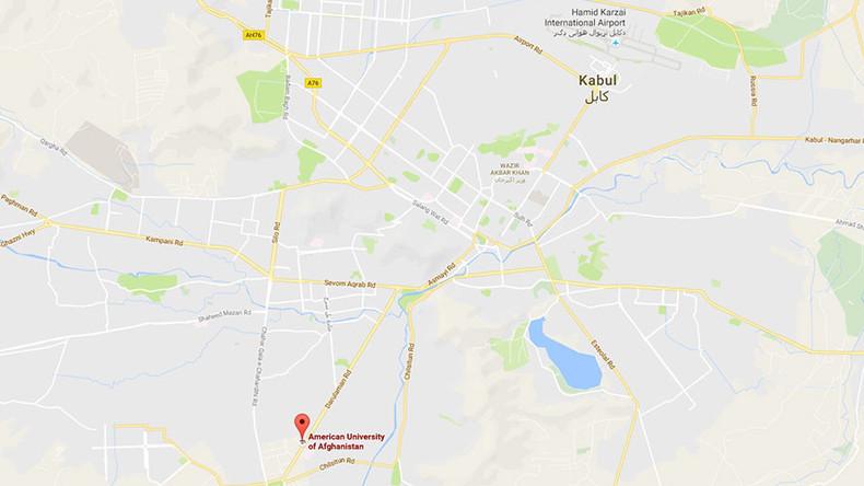 Afghanistan: Schüsse und Explosionen - Angriff auf Amerikanische Universität von Kabul