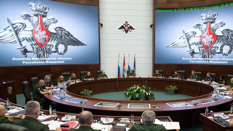 Russland überprüft seine Truppen auf Kampfbereitschaft