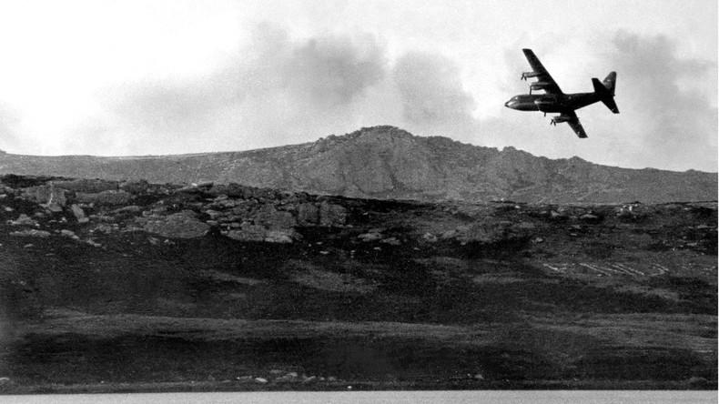 Der Falklandkrieg im Jahr 1982 forderte etwa 1.000 Tote.