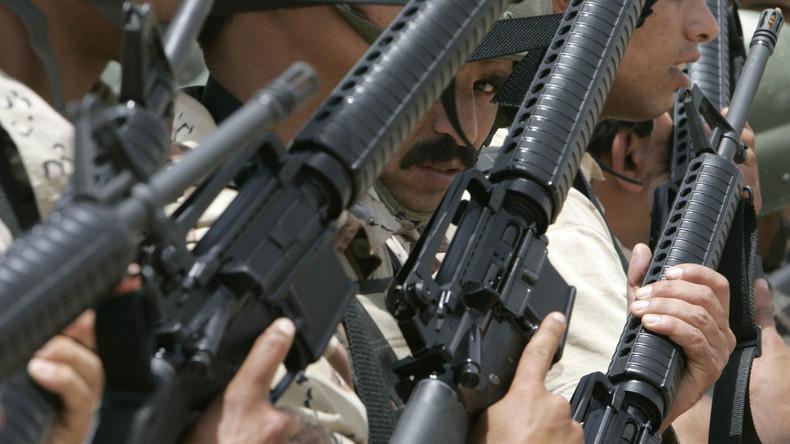 15 Jahre Terrorkrieg: USA lieferten Waffen für 40 Milliarden Dollar, Verbleib unklar