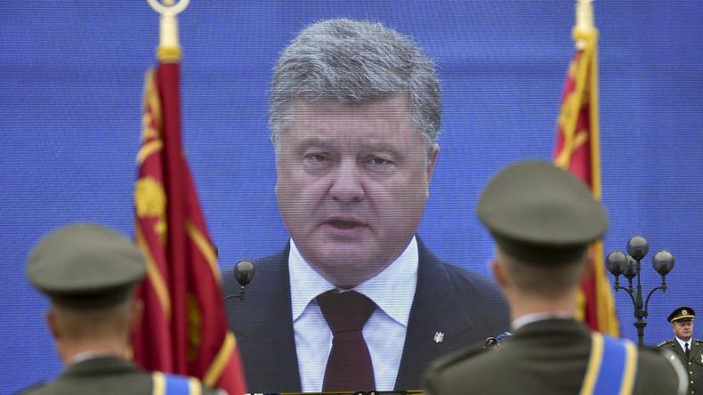 """Petro Poroschenko: """"Russland will die ganze Ukraine einnehmen"""""""