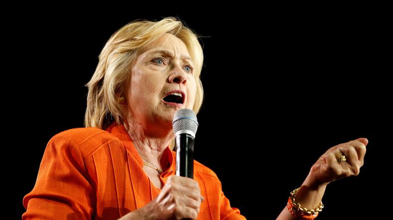 """WikiLeaks-Gründer Assange kündigt """"große Hillary Clinton-Enthüllung noch vor den US-Wahlen"""" an"""