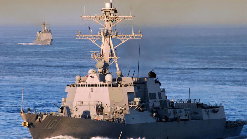 Straße von Hormus: Iranische Militärboote verfolgen US-Zerstörer - Pentagon empört