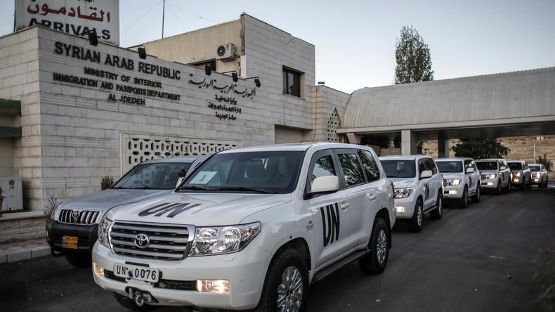 UN-Experten werfen syrischer Regierung zwei C-Waffenangriffe vor