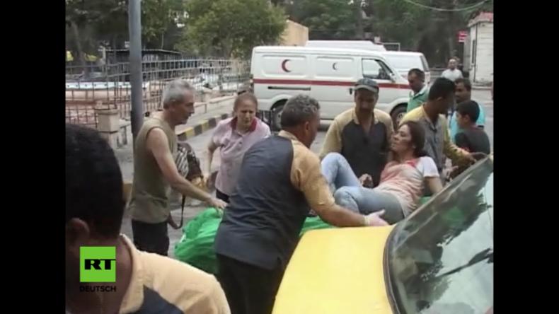 """Aleppo: """"Rebellen"""" beschießen christliches Viertel und töten Zivilisten"""