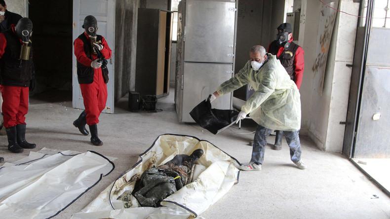 UN: IS und syrische Regierung verübten Angriffe mit Chemiewaffen