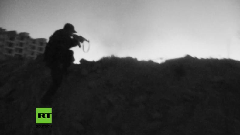 Exklusivaufnahmen aus Syrien – Kurden greifen Al-Nusra Front in Aleppo an
