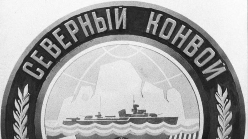 In Archangelsk wird der 75. Jahrestag der Ankunft des ersten Nordmeergeleitzuges gefeiert