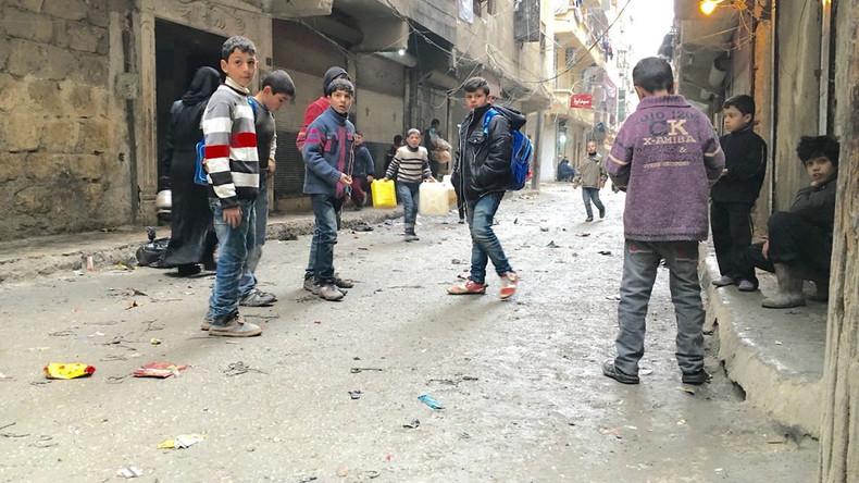 Die Kinder von Aleppo: Spielen an der Frontlinie