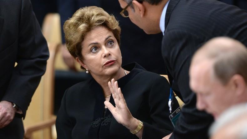 Brasilien: Präsidentin Rousseff verteidigt sich vor dem Kongress - Massenproteste gegen Temer