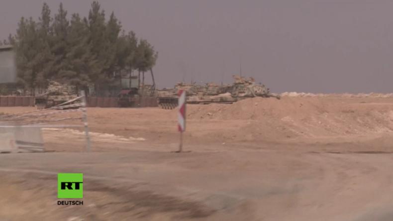 Türkische Intervention in Dscharabulus: Weiterhin Militärbewegungen aus der Türkei nach Syrien