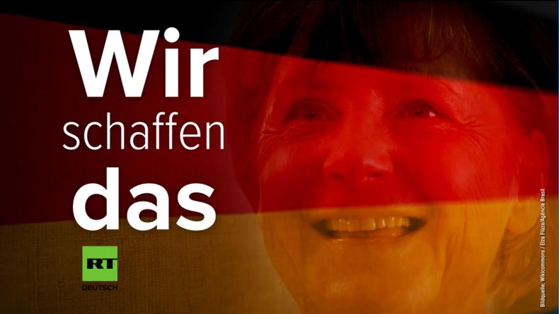 """1. Jahrestag von """"Wir schaffen das!"""""""