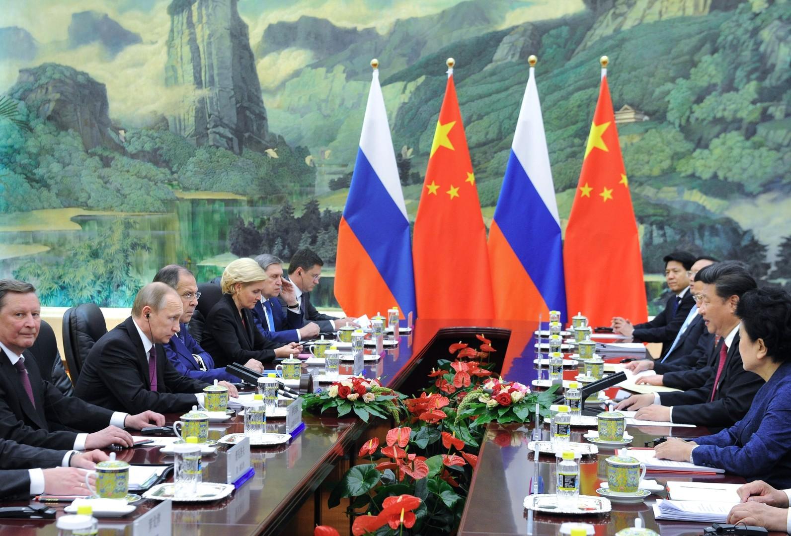 """Peking zu Bedenken bezüglich russisch-chinesischer Zusammenarbeit: """"Westen hat schwache Nerven"""""""