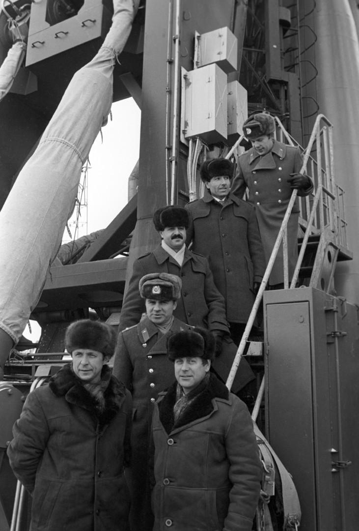 Gemeinsame syrisch-sowjetische Raumfahrtmission 1987.