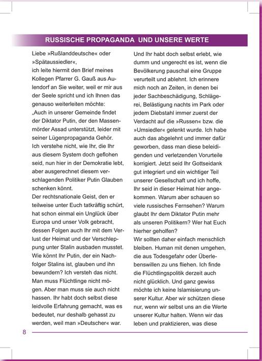 Screenshot: Offizieller Gemeindebriefes der Evangelischen Kirche Mengen (S.8): http://www.mengen-evangelisch.de/index.php?id=218855