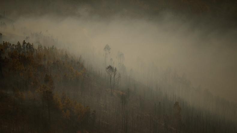 Russland hilft bei Löschung von Mega-Waldbränden in Portugal