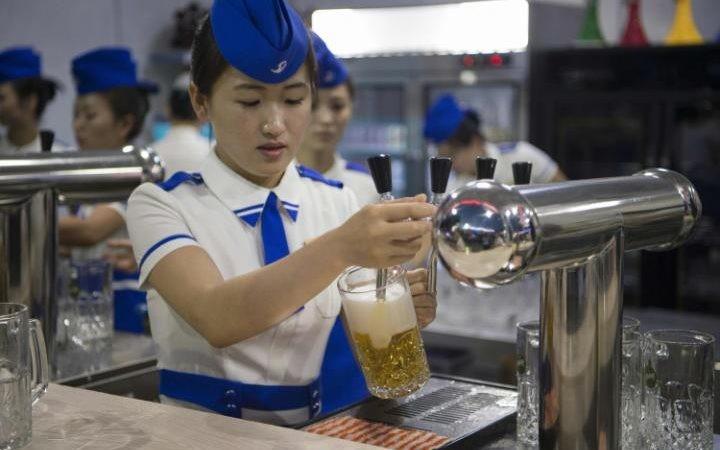 Am Morgen ein Bier und der Tag gehört dir: Oktoberfest in Nordkorea