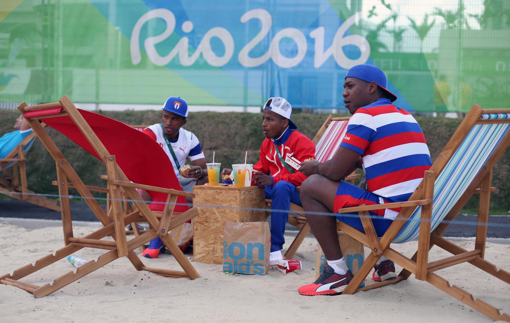 Kubanische Sportler in Rio