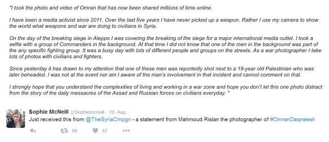 Omran aus Aleppo: Krieg um unsere Herzen