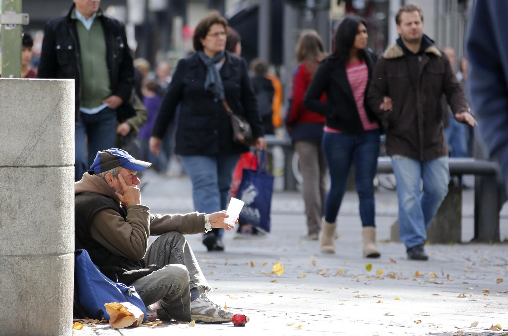 Die neoliberale EU-Politik begünstigte Armut im gesamten Unionsgebiet und entfremdete die Bürger vom Staatenbund.