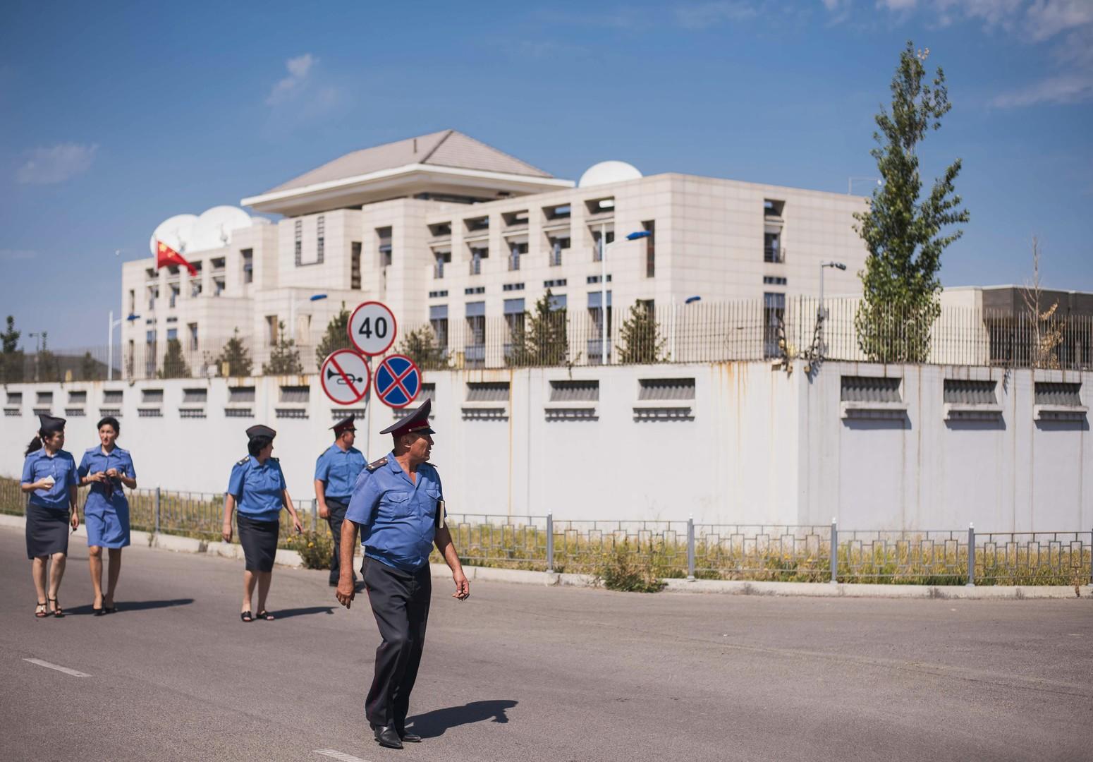 Kirgisien: Attentat auf chinesische Botschaft in Bischkek