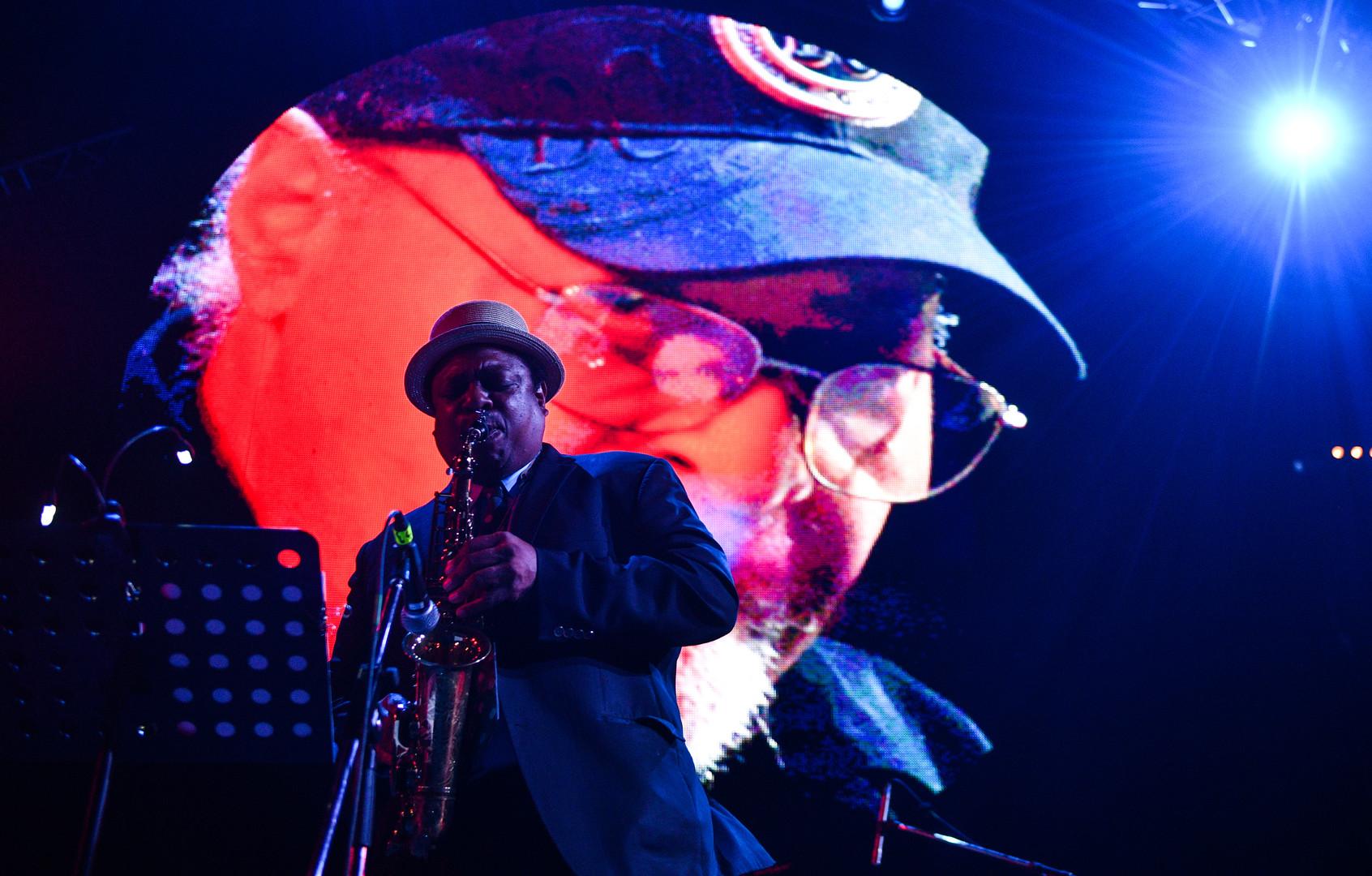 US-amerikanischer Jazz-Saxophonist des Hardbop und Post-Bop, Vincent Herring