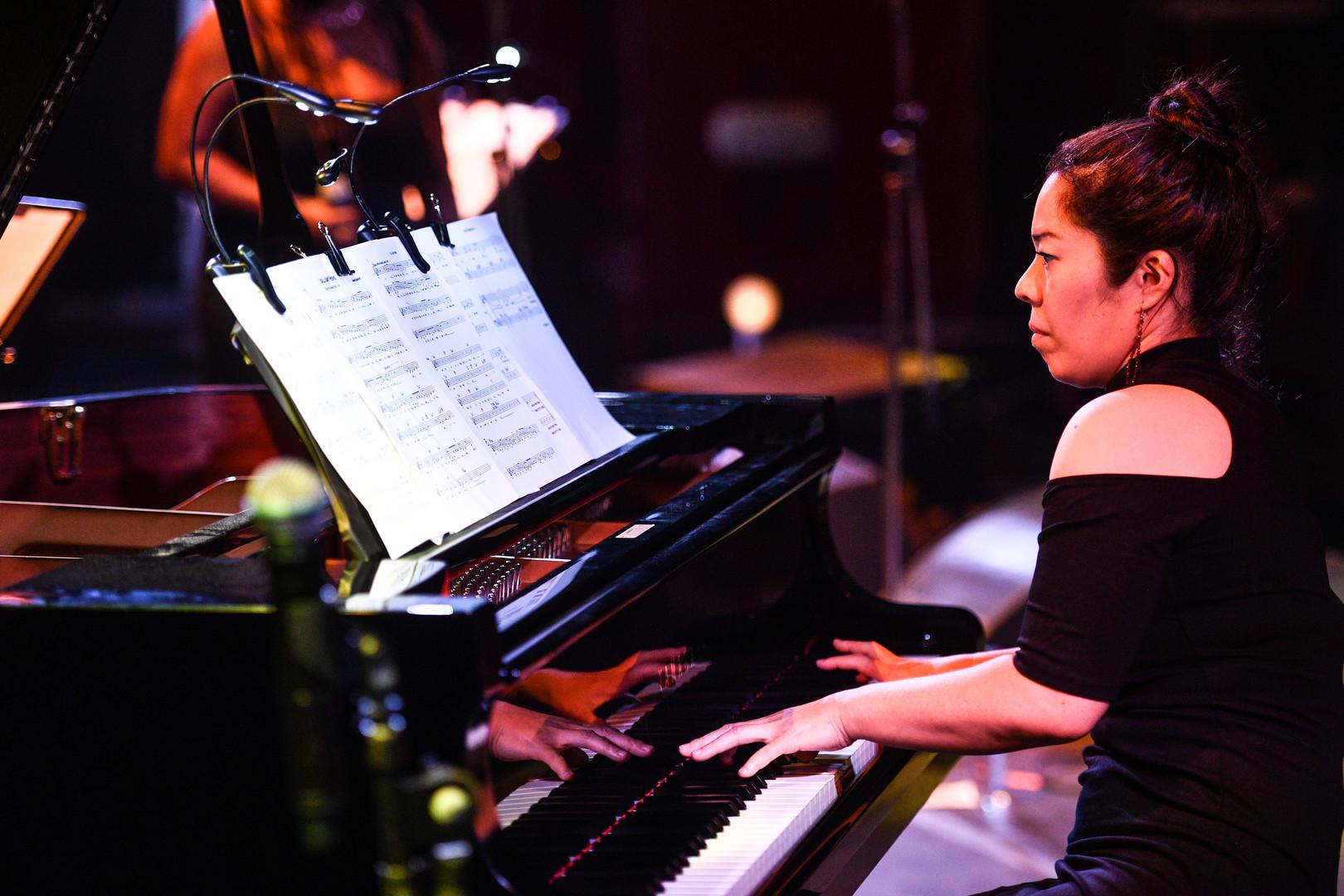 Japanische Jazz-Pianistin, Miki Hayama (NY Connection)